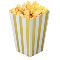 Custom Food Package Popcorn Box