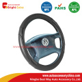 Solid Black Steering Wheel Cover Fit For Car