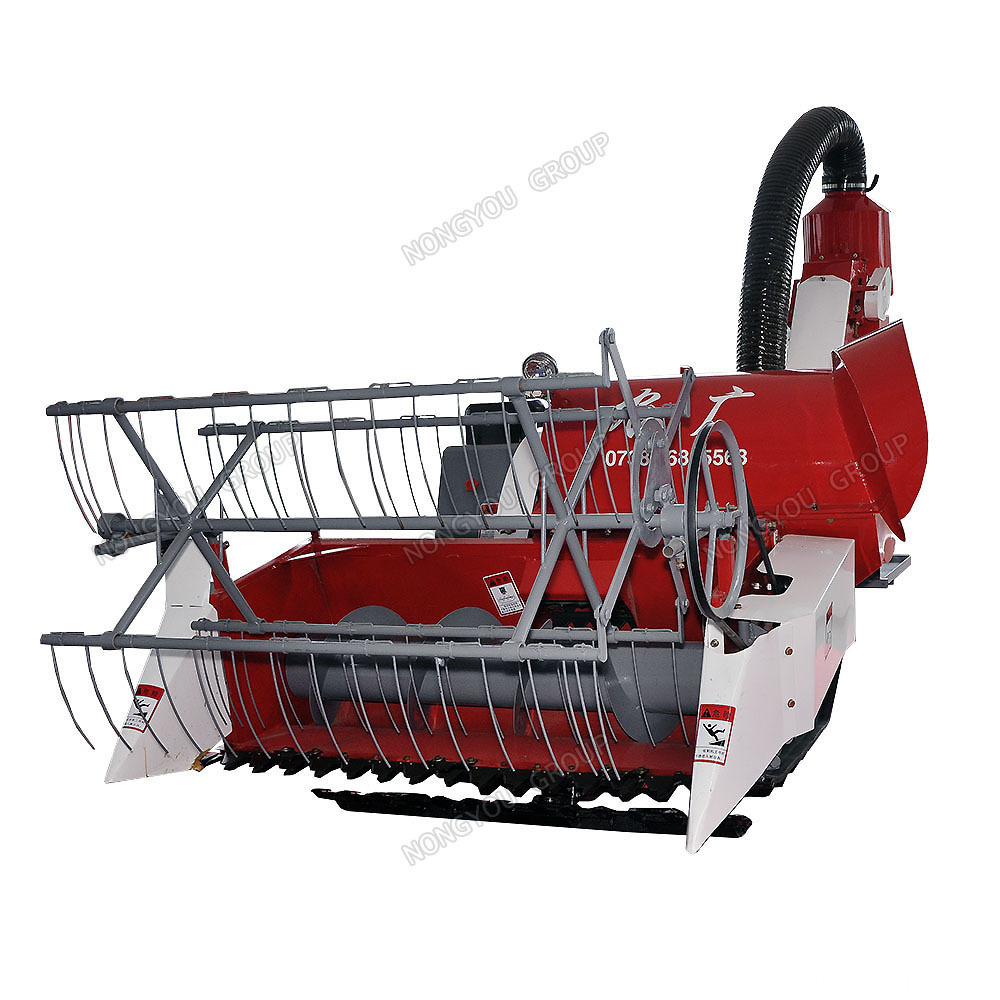 Small Grain Harvester Mini Grain Harvester 4LZ-0.8
