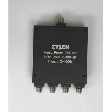 2-40GHz 4-way Power Divider
