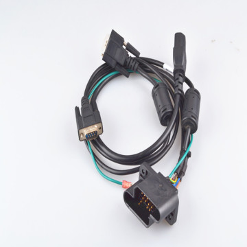 Casino Single Display Customized DSUB Connector Cable