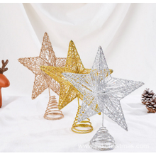 Fashion Christmas Tree Top Decoration Stars