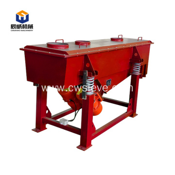 large capacity linear vibrating screen for coffee bean