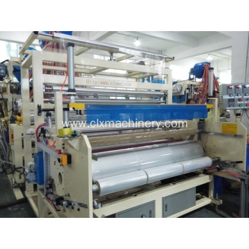 LLDPE Extrusion Plastic Film Machinery CL-65/90/65A