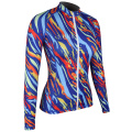 Seaskin Patterned Streamline Ladies Rash Guards