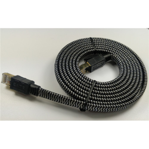 SFTP RJ45 Flat Cable Shielded Cat8 Network Cable