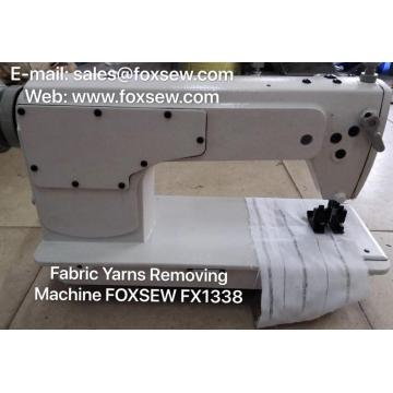 Fabric Yarns Removing Machine