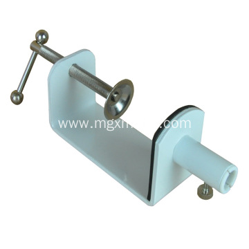 Table Clamp With Pole Holder For Lamp