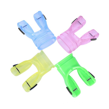 Silicone Mouthpiece With Optional Color Comfort Fit