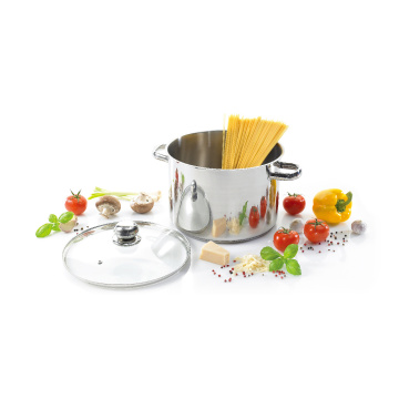 Sale Stainless Steel Stock Pot with Hollow Handles