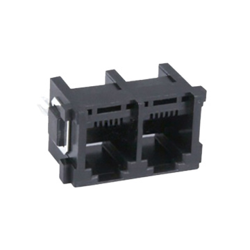 RJ11 Top entry 6P4C Full plastic with legs