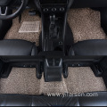 New design blank coil car mat heel pad