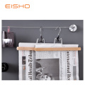 EISHO Wood Pants Hanger Clips For Posters Pictures