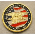 Custom 3D Military Souvenir Coin with Soft Enamel