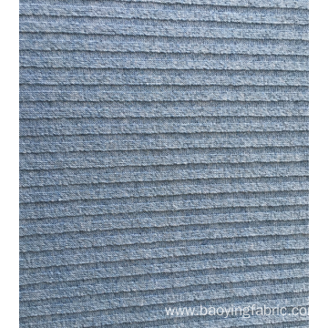 Fabric With Ribbed Surface