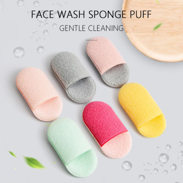 Natural Soft Surface Makeup Tools Face Cleansing Puff
