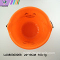 Wholesale Halloween plastic pumpkin barrel