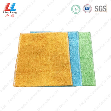 Smooth sightly washing kitchen sponge