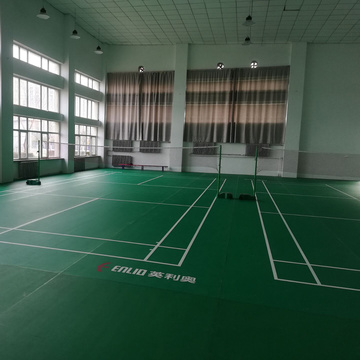 enlio sports flooring PVC badminton floor