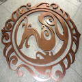 Vintage Copper Metal Signs Laser Cut