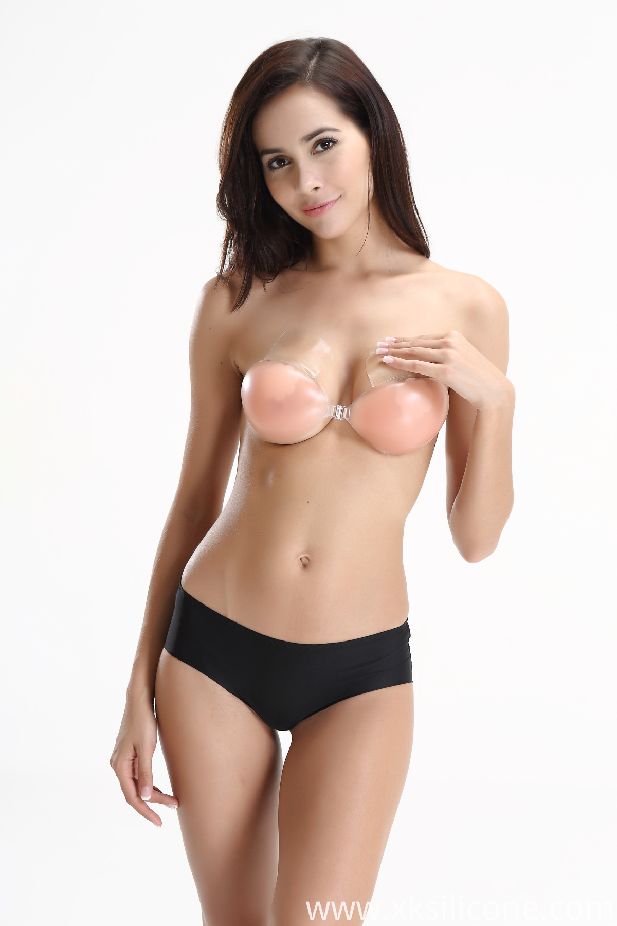 High Quality Adhesive Invisible Push Up Silicone Bra