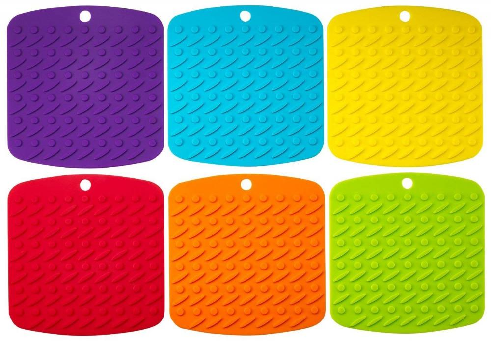 Kitchen Silicone Colorful Table Coffee Cups Mat