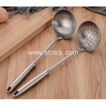 Stainless Steel Hotel Restaurant Hot Pot Spoon Soup