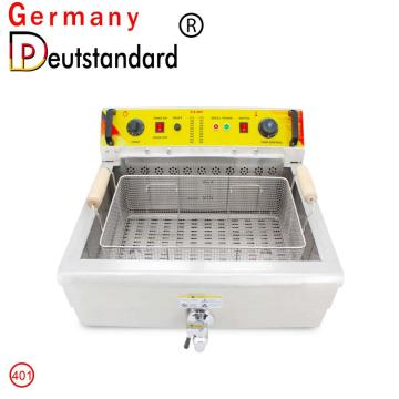 Best selling deep frying machine with stainless steel