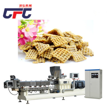 The Double-Screw Fried Wheat Flour Snack Process Line