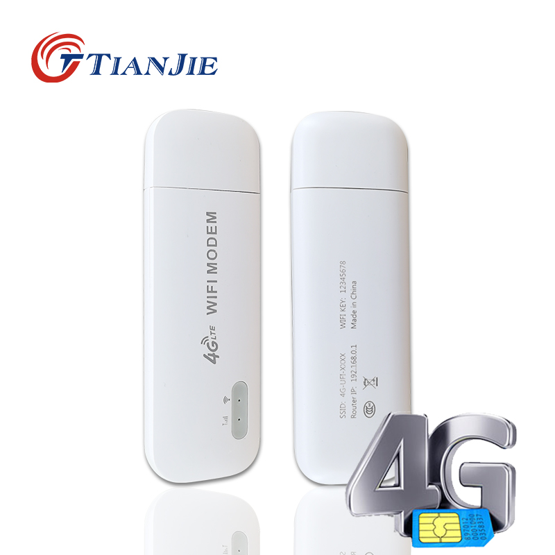 Mini 4G USB Modem VPN Unlock LTE Wifi Router Car Network Stick Mobile SIM Card Dongle Passby Unlimited Hotspot IMEI can changed