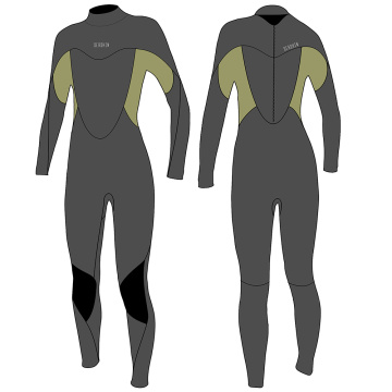 Seaskin Womens Back Zip Full Suits