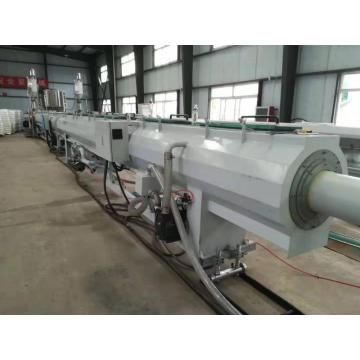 PP ultra-quiet drain pipe extrusion machine