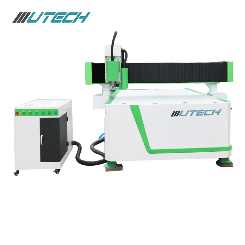 CNC router woodworking machine with CCD camera