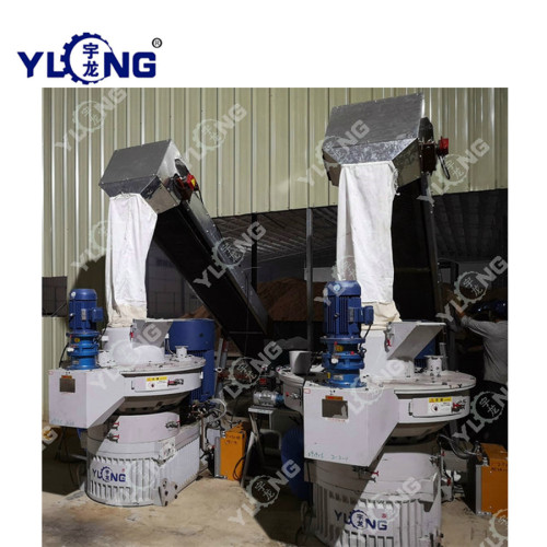 Agricultural Forestry Wastes Straw Pellet Machine
