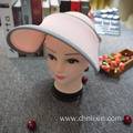 Factory cheap flexible breathable sun visor cap
