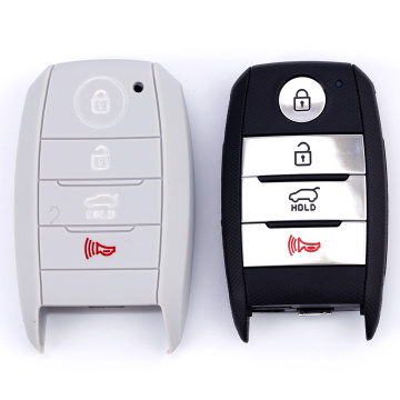 Silicone Car Key Cover bakeng sa Kia
