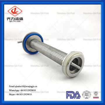 Sanitary Angle Type Filter for Water Treatment
