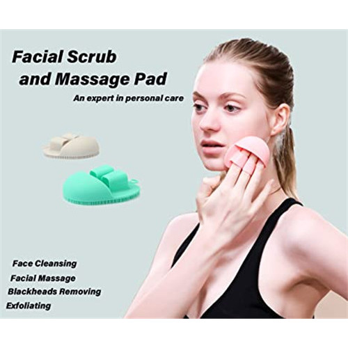 Food Grade Soft Silicone Facial Cleansing Brush