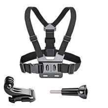 Chest Strap Mount Belt for Gopro Hero 9 8 7 6 5 4 3 3+Yi SJCAM SJ4000 Action Camera Chest Head Strap Mount Harness Sport Cam Fix