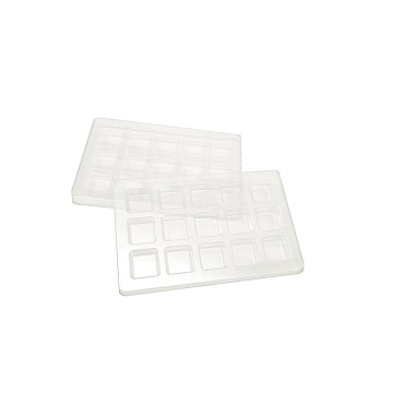 Cavity Plastic Packing Chocolate Blister Insert Tray