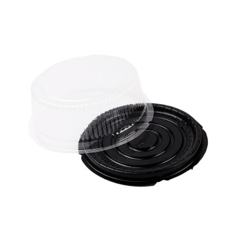 Disposable Round Plastic Blister Cake Box Packaging