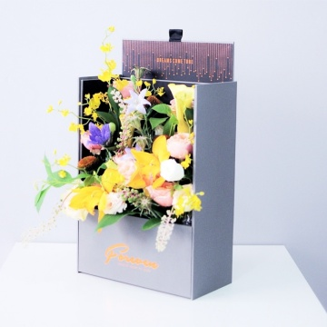 Elegant Looking Luxury Flower Gift Packaging Paper Box