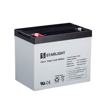 12V DC12-80 VRLA Deep Cycle Batteries