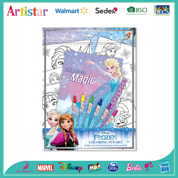 DISNEY FROZEN Colouring foil art set