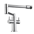 HIDEEP 360 Degree Rotation Pure Brass Kitchen Faucet