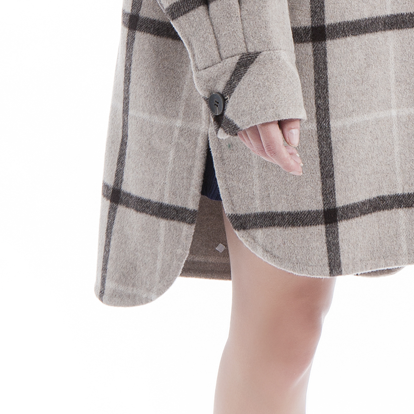 Cashmere coat women