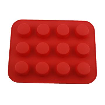 12 Cups Food-grade Silicone Molds Kitchen Baking Tools