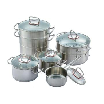 Thread ear 304ss pot set