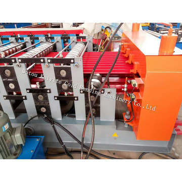 Corrugated And Trapezoid Shape Roof Wall Tile Machine