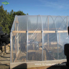 UV treated greenhouse plastic film